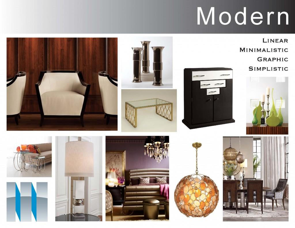 Style Boards-Modern