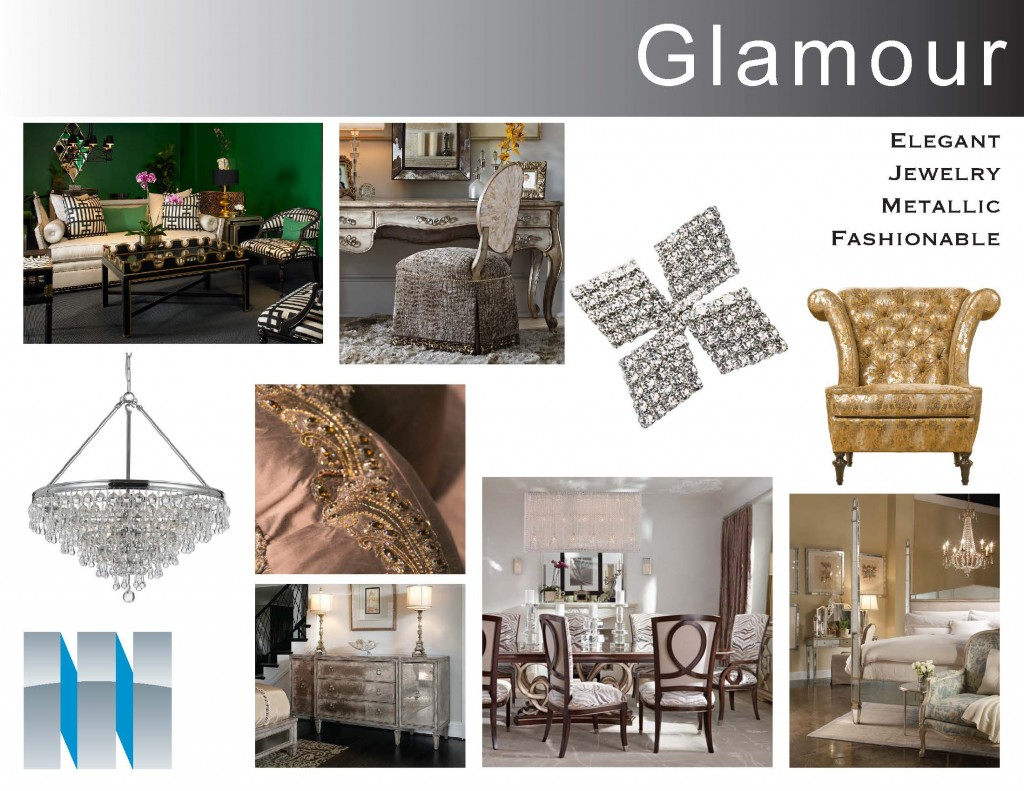 Style Boards-glamour